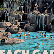 Load image into Gallery viewer, Details of LONG BEACH GARDEN PATTAYA - Vintage travel poster
