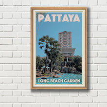 Load image into Gallery viewer, Framed poster of  PATTAYA - Buy poster online