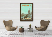 Load image into Gallery viewer, Vintage Poster London Putney - Retro Art Print London
