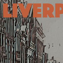 Load image into Gallery viewer, Details of STREET LIVERPOOL - Vintage travel poster of England