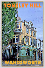 Load image into Gallery viewer, Vintage Poster Tonsley Hill Wandsworth - Retro Poster London