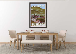 GUETHARY SEA FRONT - Limited Edition Poster