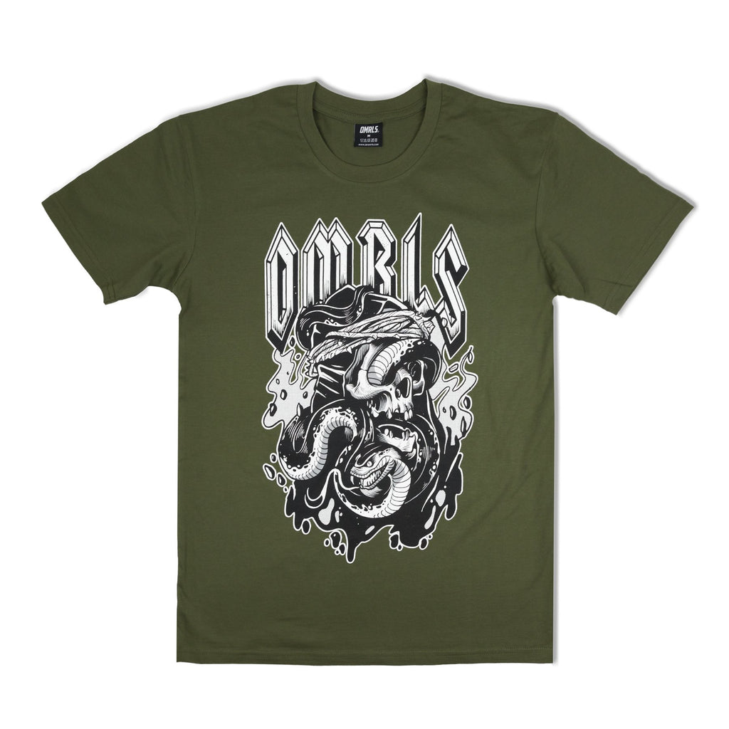 World Tour Tee V2 (army green)