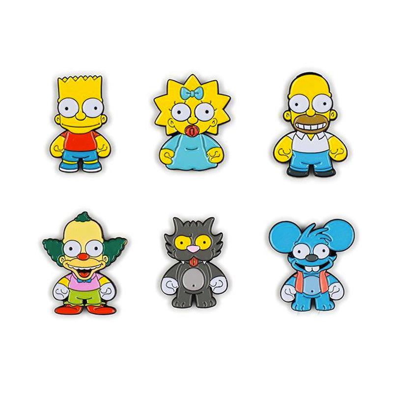 The Simpsons Enamel Pin Blind Box Series