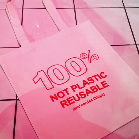 100% Not Plastic Bag