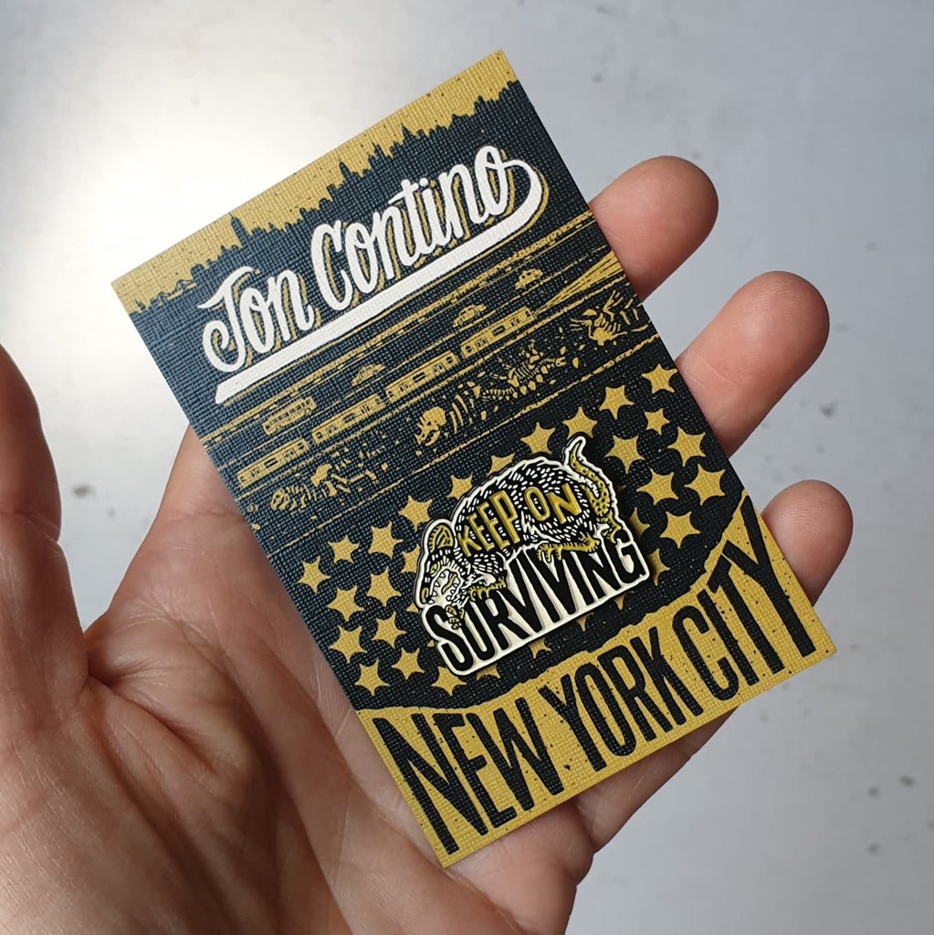 JON CONTINO - Keep on Surviving