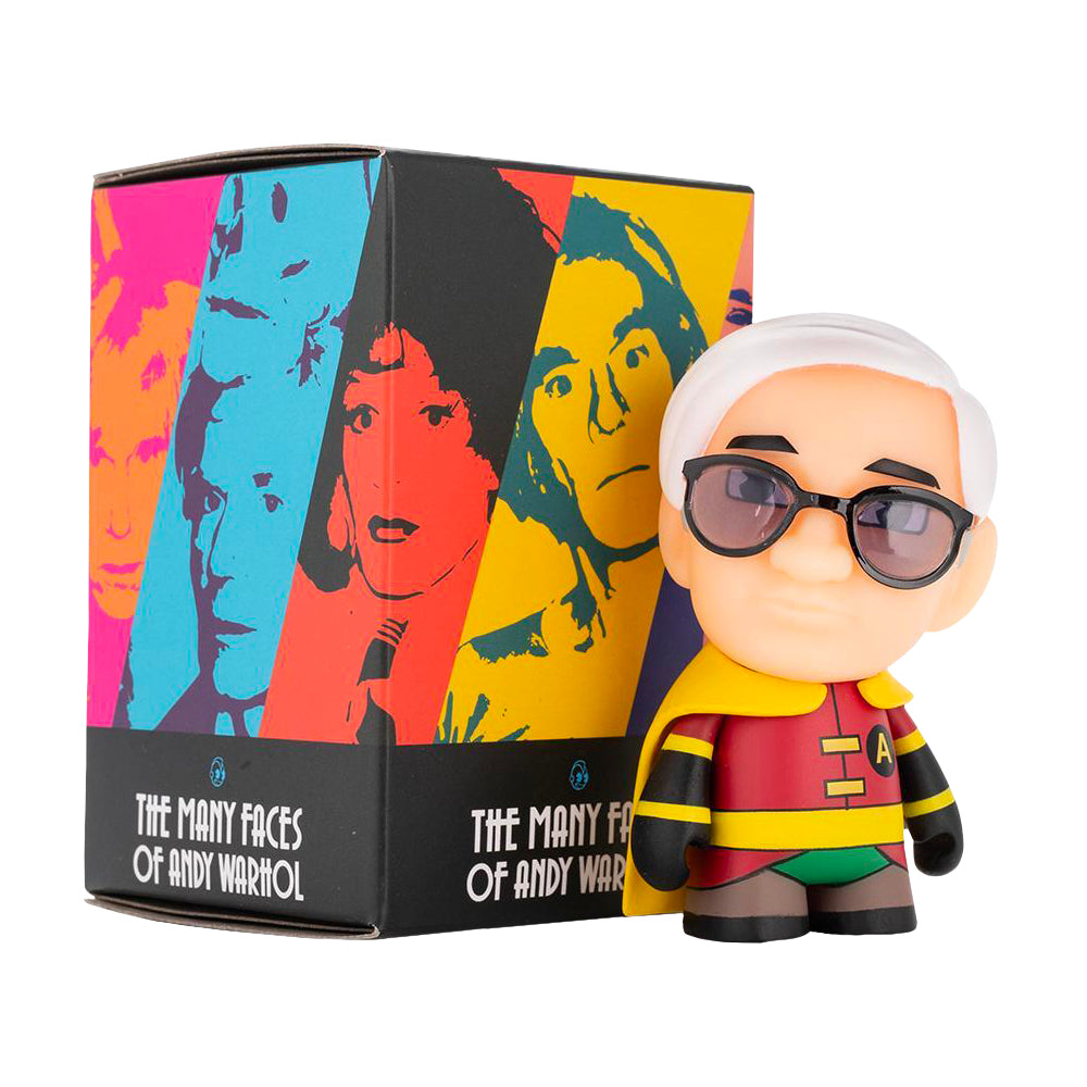 Many Faces of Andy Warhol Blind Box Miniseries