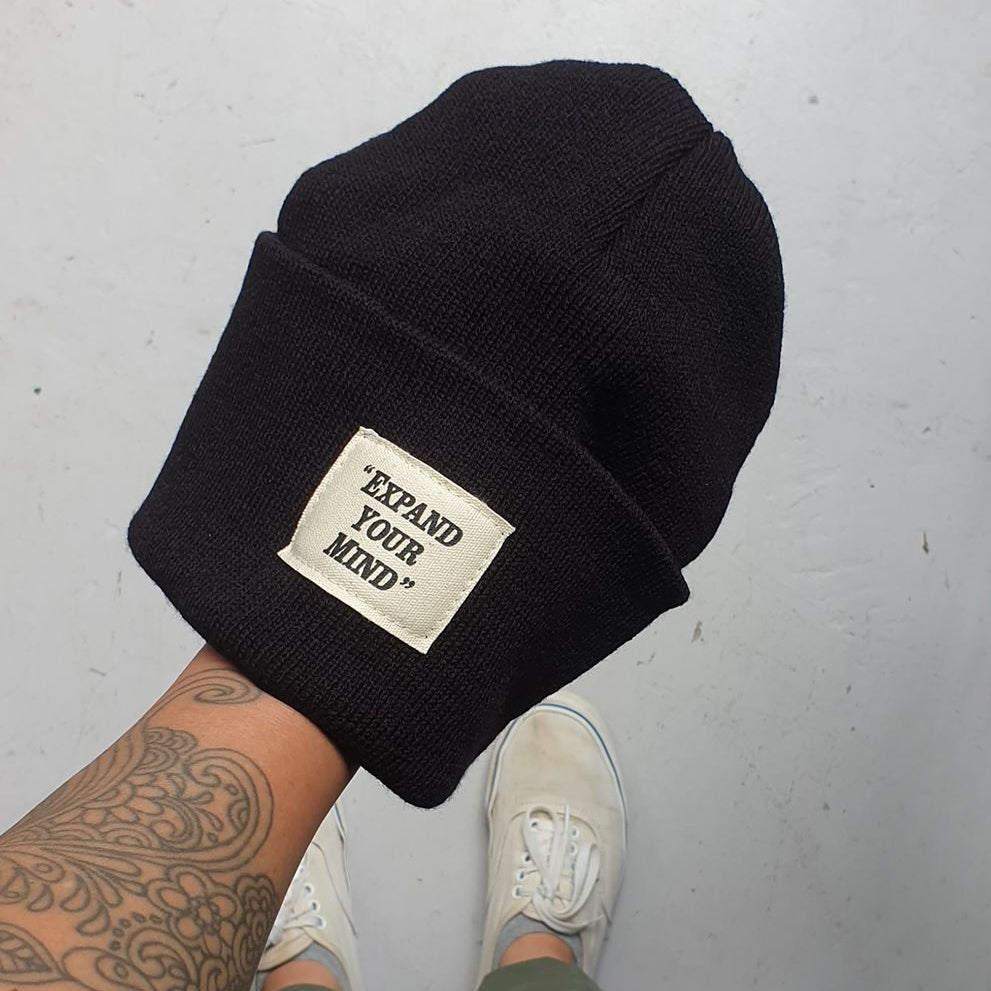 Expand Your Mind Cuff Beanie