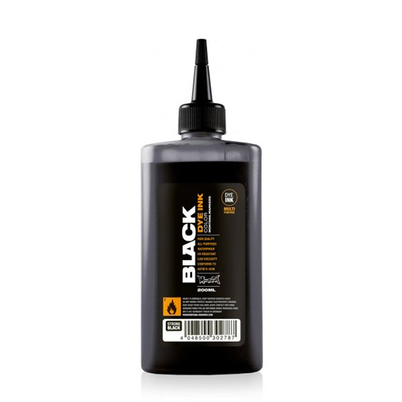 Montana Black Dye Ink 200ml