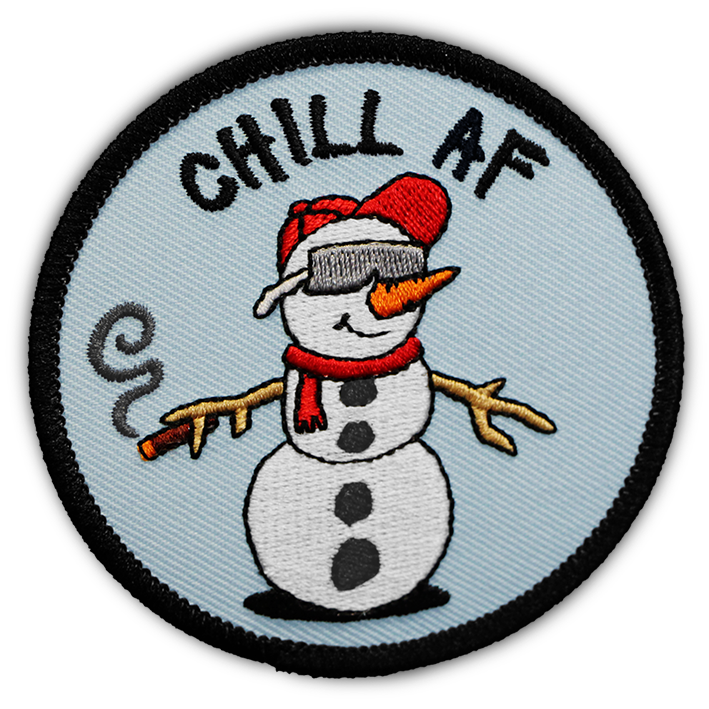 Snow Dude 'Chill AF' - Patch