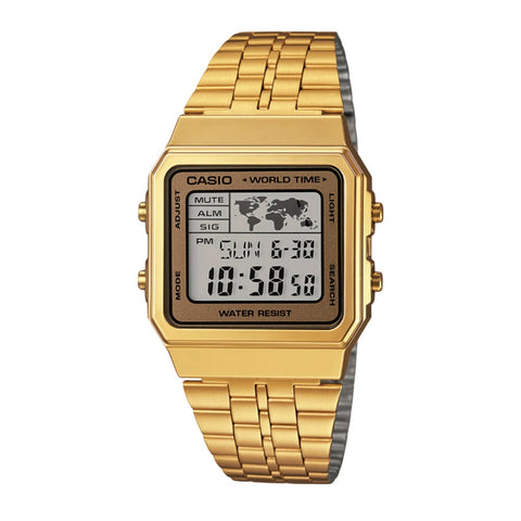 Casio A500WGA-9DF Gold Band Unisex