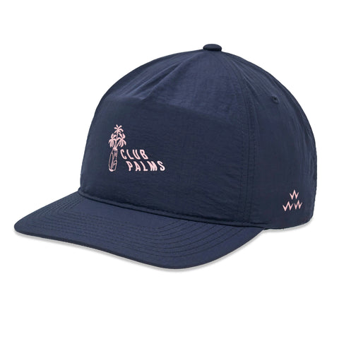 Club Palms Snapback (navy)