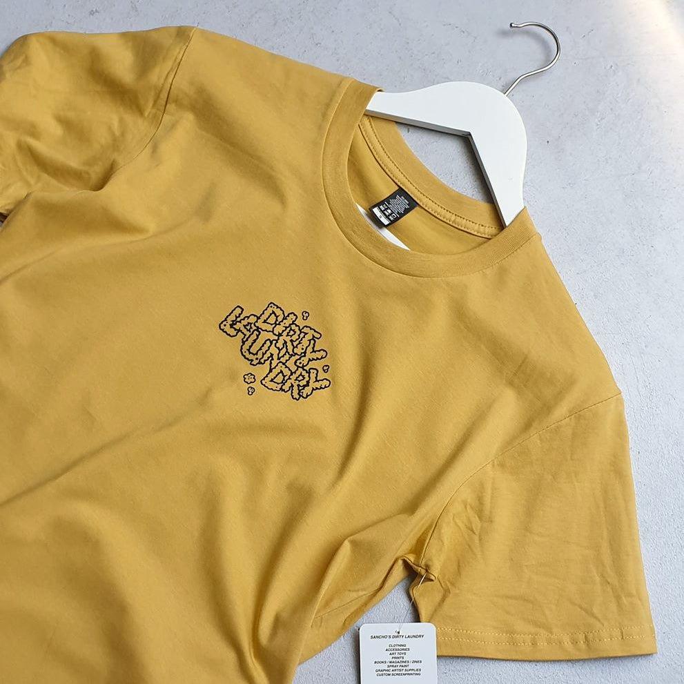 Good People Break Bad Rules Tee (mustard)