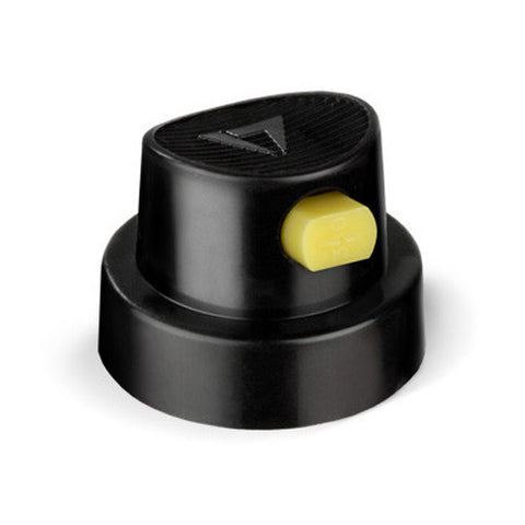 Caps - Flat Jet Artist 1 (yellow dot/black)