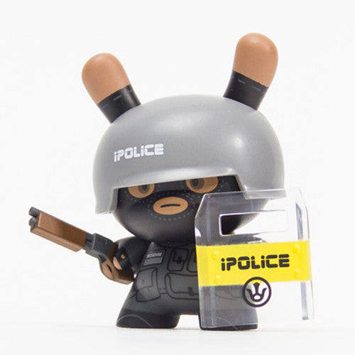 Dunny Evolved - Urban Pacification Unit Officer Steve | Huck Gee #2