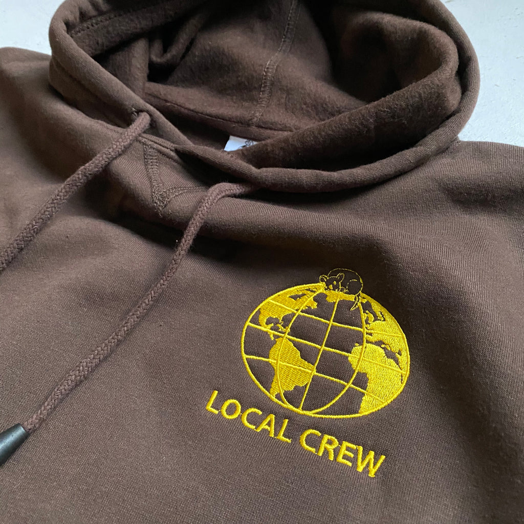 Local Crew Hoodie (brown)