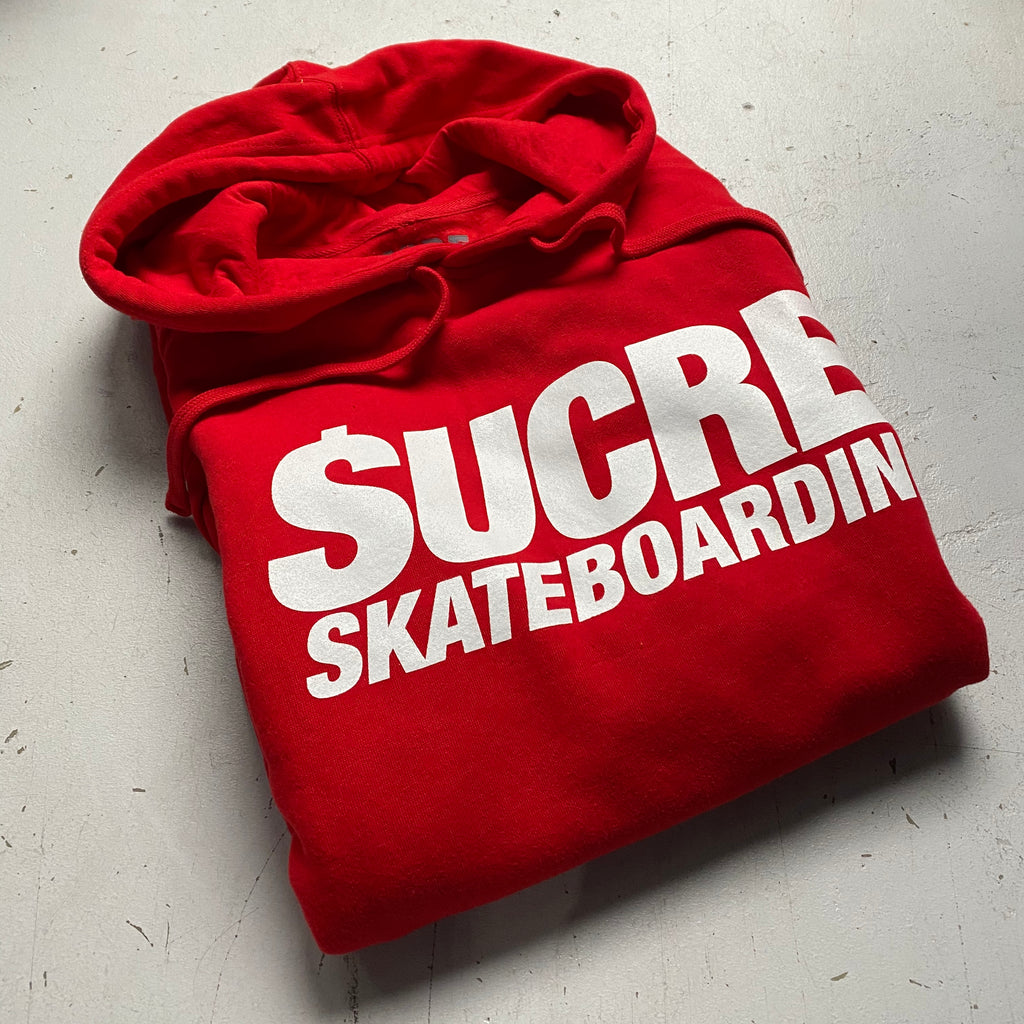 LOOT Edition Sucrè Skateboarding Hoodie (Red)