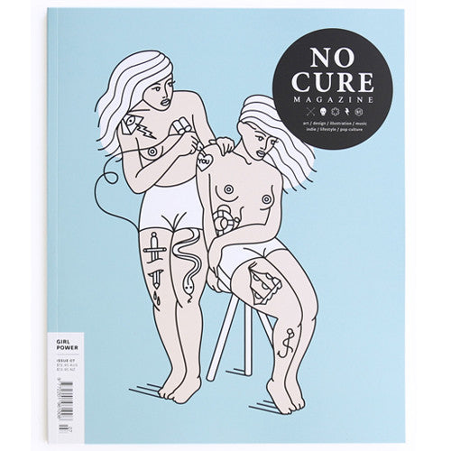 No Cure Magazine - Issue 7 (Cover B) - Girl Power!