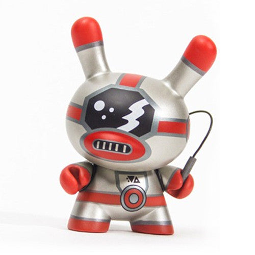 Dunny Evolved - Red Robot | Frank Kozik #1