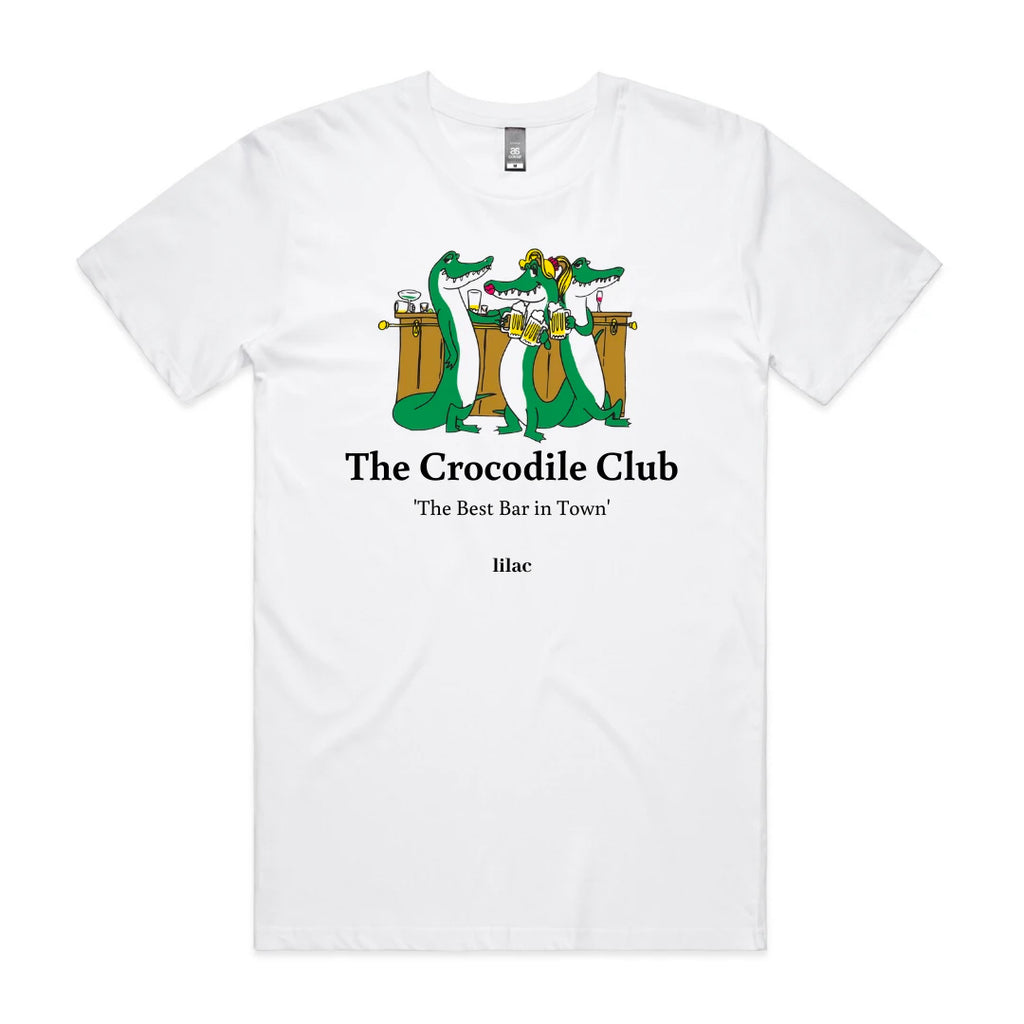 Crocodile Club Tee