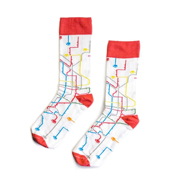 MTN Socks - Metro White