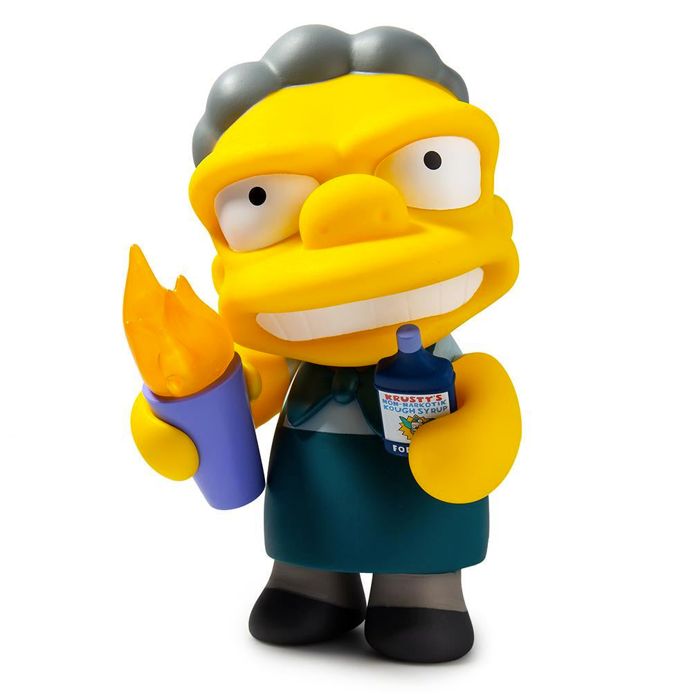 The Simpsons Flaming Moe - Medium Vinyl Figure