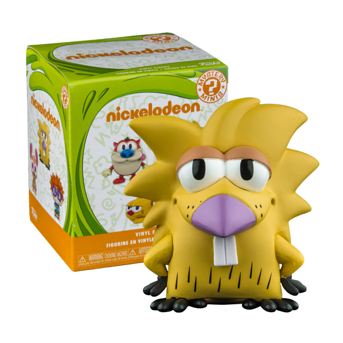 Nickelodeon - Mystery Mini Blindbox Series (Filburt, Log and Powdered Toast Man Exclusives)