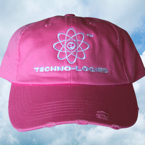 TECHNOLOGIES DISTRESSED CAP (PINK)
