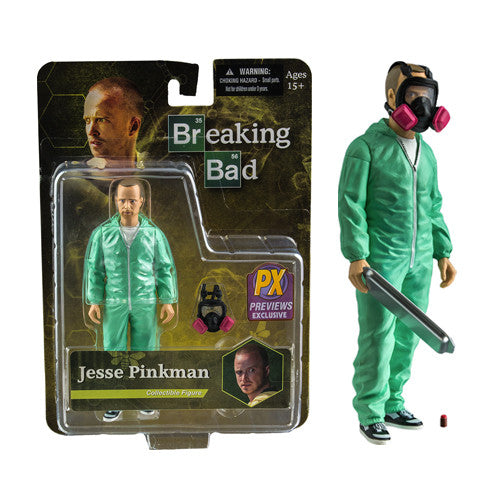 "Breaking Bad - Jesse Pinkman 6"" Blue Hazmat"