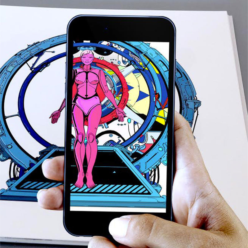 Prosthetic Reality - An Augmented Reality Art Book