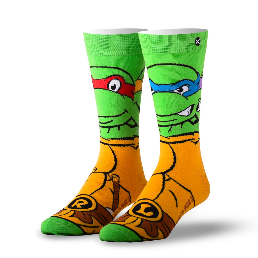 Retro Teenage Mutant Ninja Turtles Sock