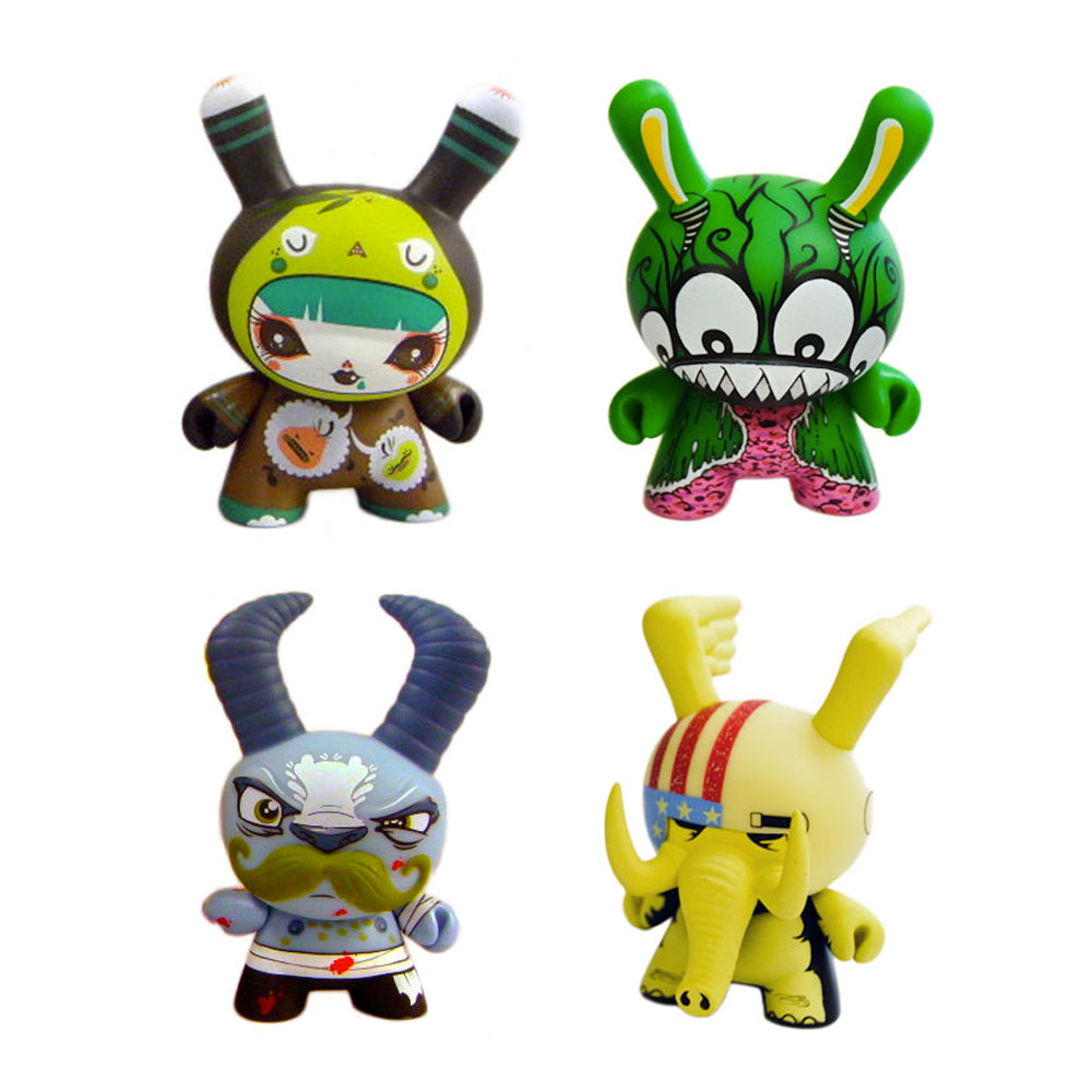 "Dunny Sideshow 3"" Blindbox Series"