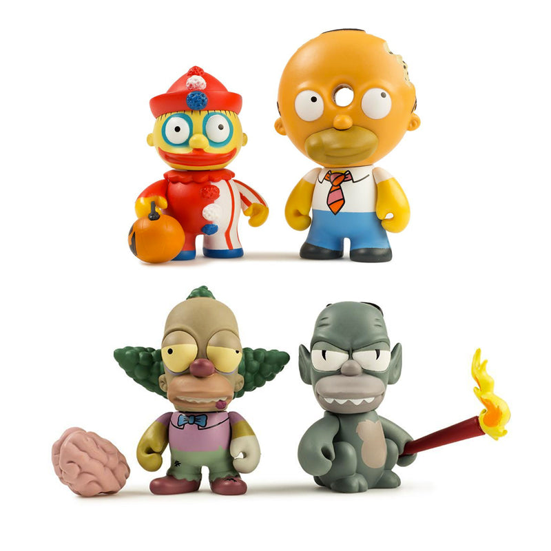 Simpsons Treehouse of Horror Blindbox Miniseries