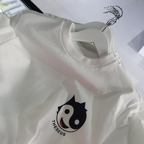Cool Cat Tee - White