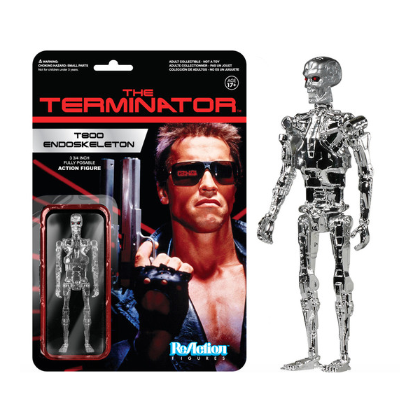 ReAction - The Terminator: T800 Endoskeleton (Chrome)