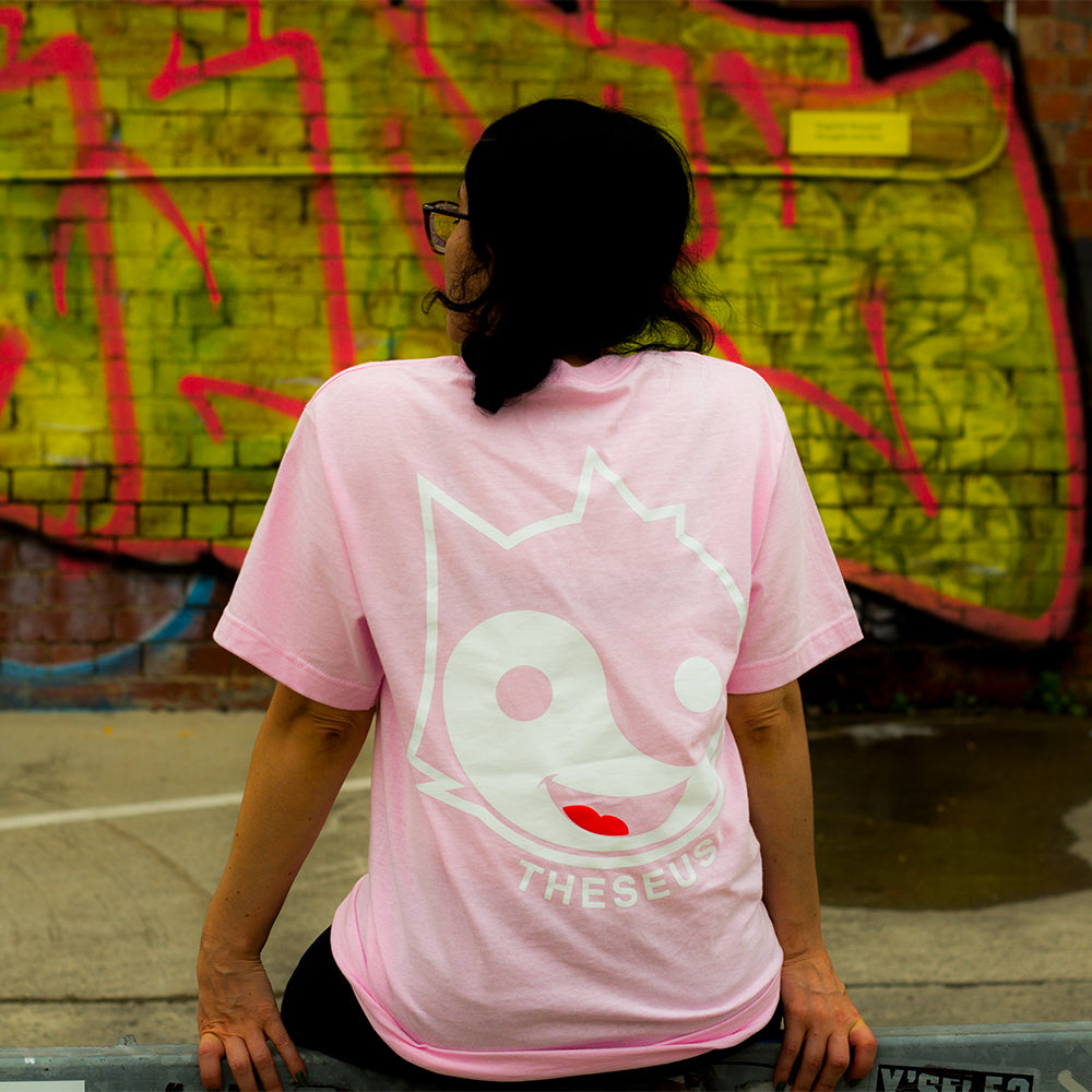 Cool Cat Tee - Pink