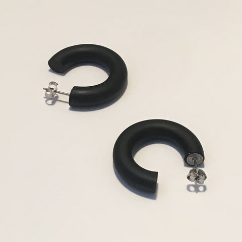 Tiny Hoops - Black