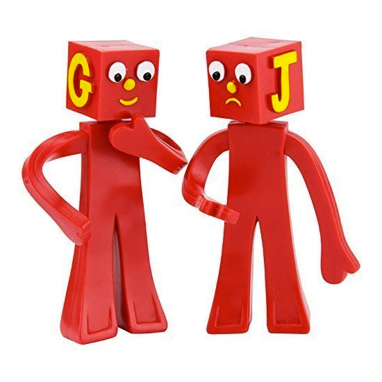 Blockheads - bendable & poseable