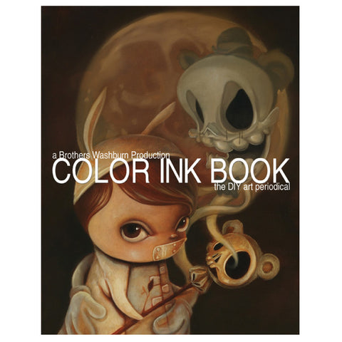 Color Ink Book Volume 16 - Cover by Brandt Peters