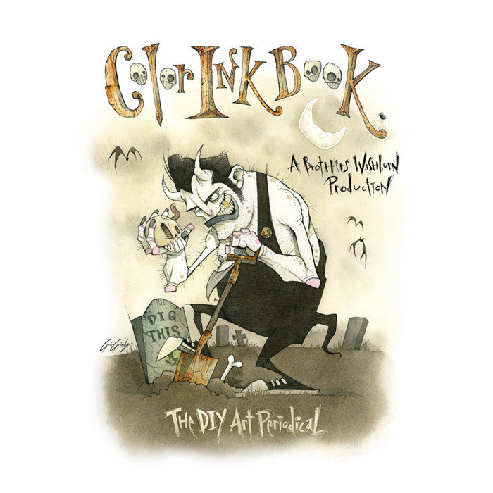 Color Ink Volume 17 - Cover by Gris Grimly