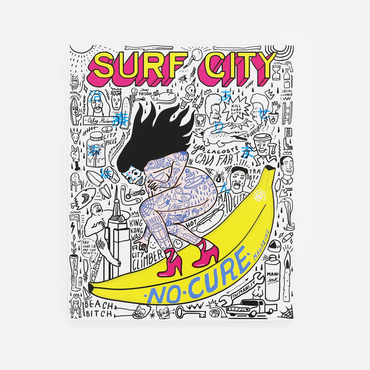 No Cure Magazine - Issue 10 - Surf City (Limited Edition Box)