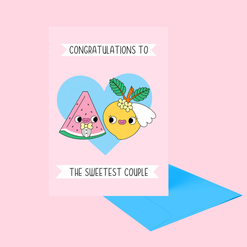 Sweetest Couple Greeting Card