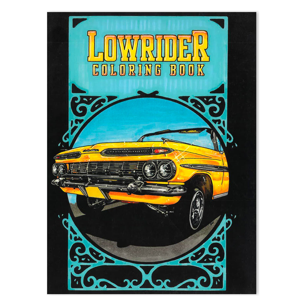 Lowrider Colouring Book
