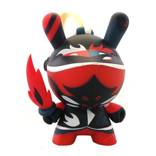 Kidrobot Art Of War Dunny Series 3 Inch Figure Patricio Oliver Red 2//20
