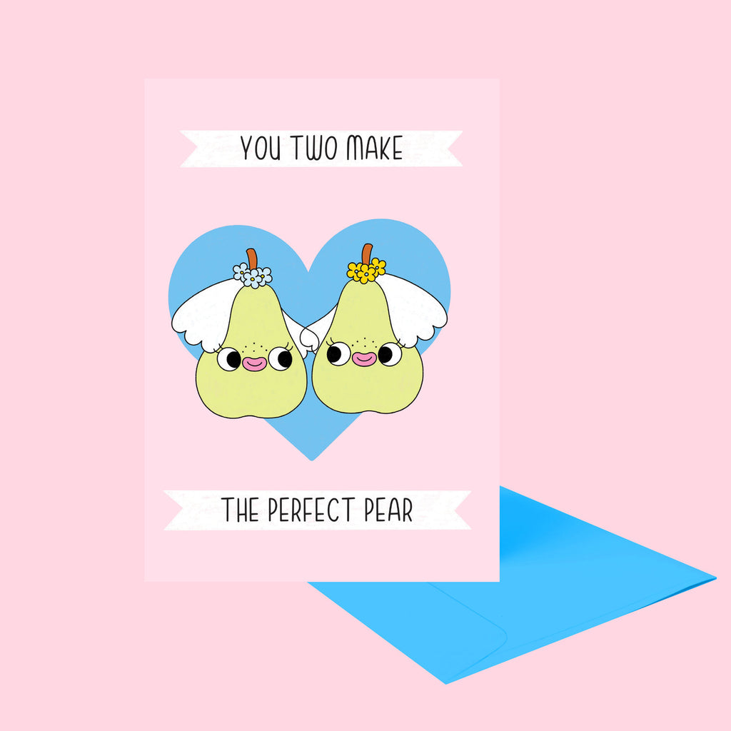 Perfect Pear Greeting Card