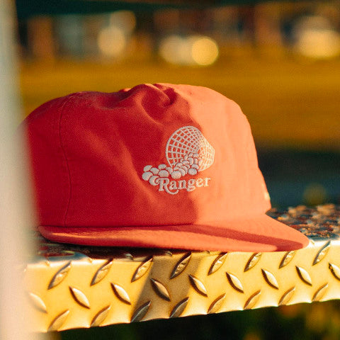 Ranger Soft Peak Cap (red)