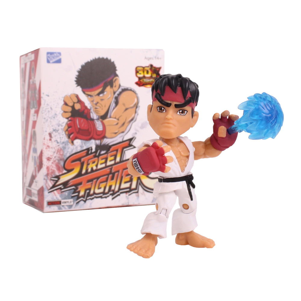 Street Fighter 30th Anniversary Vinyl Figure Blindbox