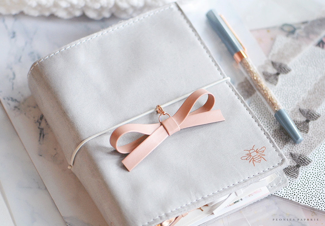 The Essentials Collection: Blush Alice Bow Planner Charm