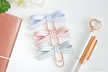 Mini Gingham Collection: Spring Edition Baby & Original Alice Bows Clip Set