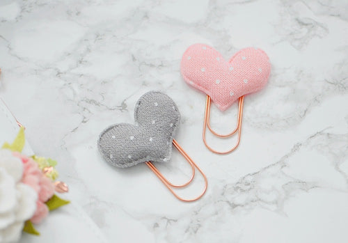 Sweater Heart Paper Clip